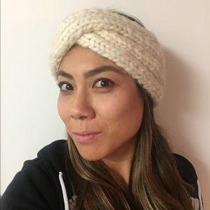 Eugenia Kim Peruvian wool off white headband